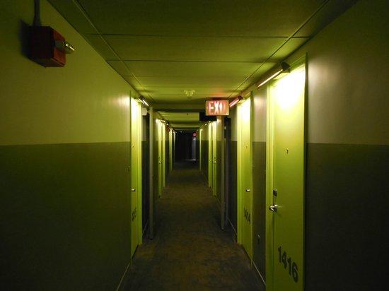 Hudson Hotel New York:                   Acesso aos quartos