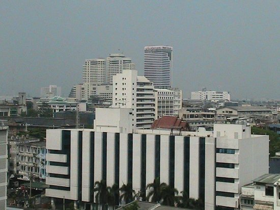 The Twin Towers Hotel: bangkok city from my room