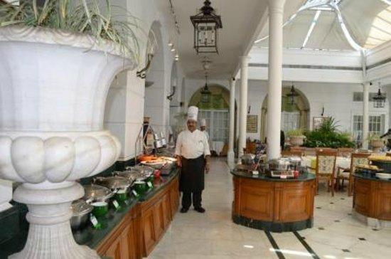 ITC Windsor, Bengaluru:                   Raj Pavilion restaurant & Chef