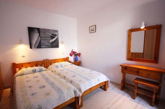 Hotel Spanelis: Garden view room