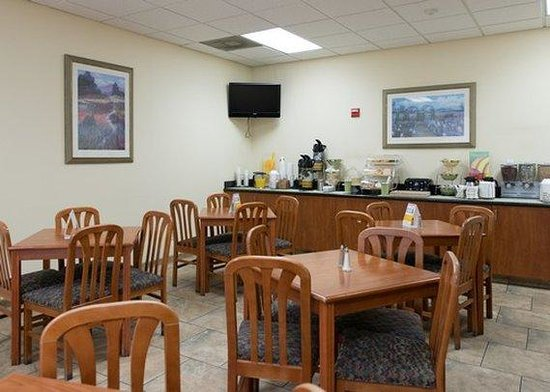 Quality Inn Downtown Convention Center: Breakfast Area