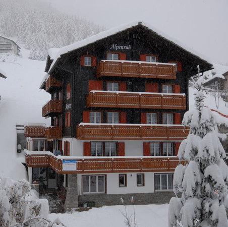Chalet Alpenruh : Aussenansicht Winter