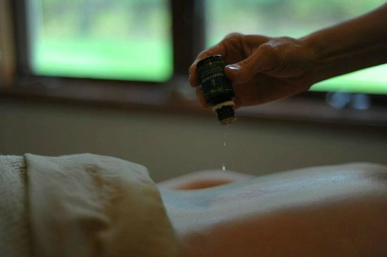 M Spa Salon and Day Spa: Raindrop Therapy