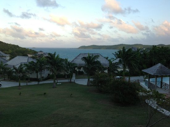 Nonsuch Bay Resort:                   View of the bay from our room.