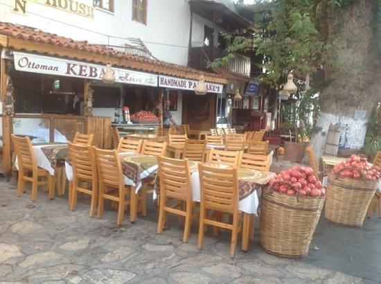 Ottoman Kebab House :                   Her fås den bedste kaffe i Kas