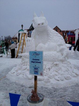 Bavarian Inn Lodge:                   snow fest