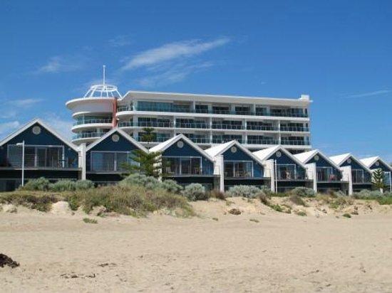 Seashells Mandurah : Vue depuis la plage