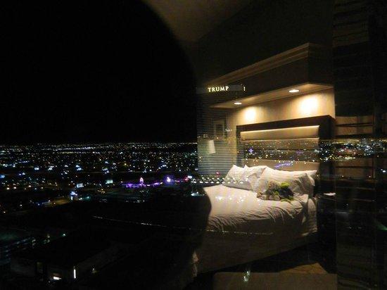 Treasure Island - TI Hotel & Casino:                                     Night view from room