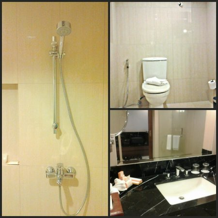 Luxent Hotel:                   Luxent Bathroom