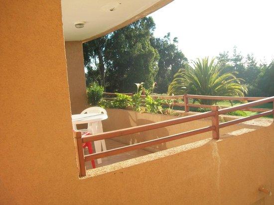 Frontera Holiday :                                     vista desde la habitacion a la terraza