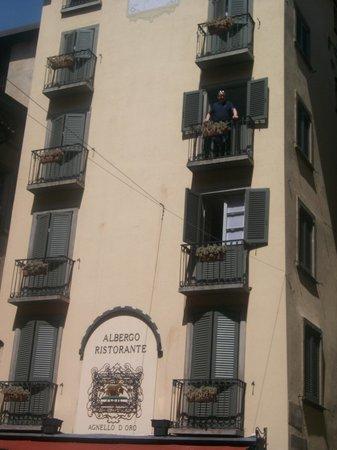 Hotel Agnello d'Oro:                   balcony room