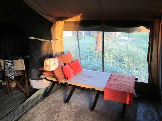 Olakira Camp, Asilia Africa:                   La tente