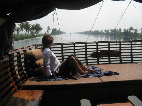 Kodianthara Heritage Home:                                     Princess on the houseboat