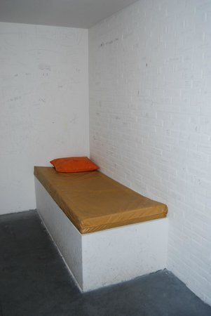 Gevangenisemuseum (The Prison Museum):                   One of the prison cells