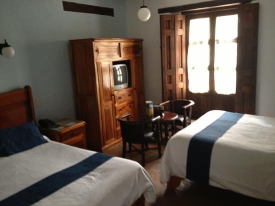 Hotel Casa de Guadalupe:                   La habitación