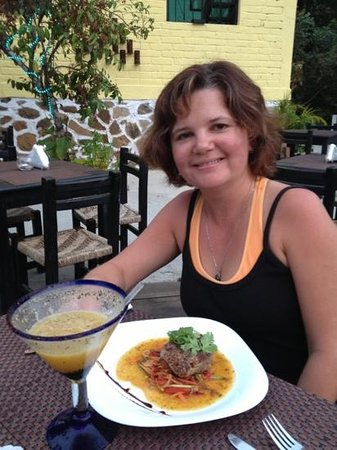 El Cerrito Restaurant & Bar :                                     wonderful seared tuna and passion fruit margarita