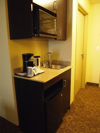 Holiday Inn Express Hotel & Suites Mt Juliet-Nashville Area: Fridge and microwave