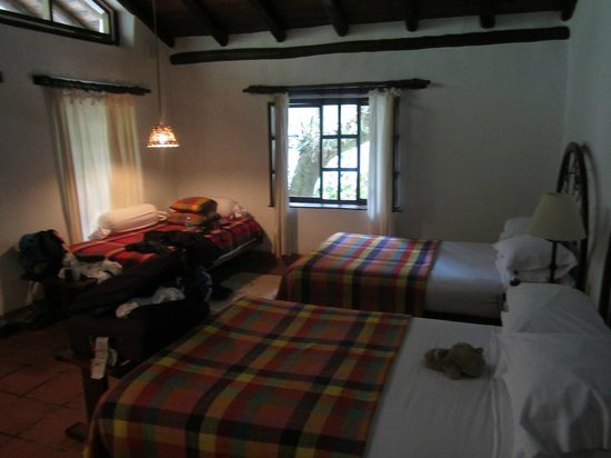 Inkaterra Machu Picchu Pueblo Hotel: Inside of our cottage