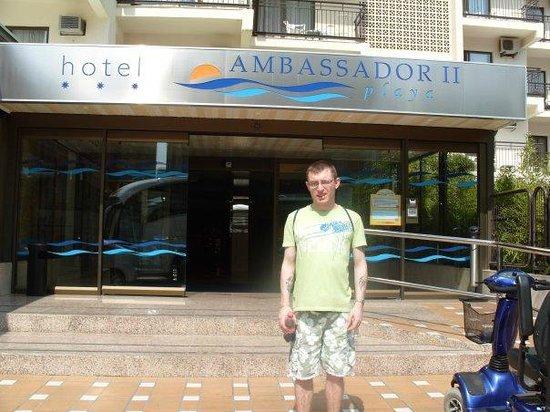 Hotel Ambassador Playa I & II:                   Ambassador Playa Entrance