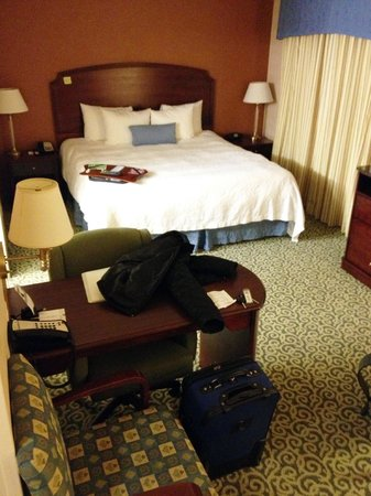Hampton Inn and Suites Arundel Mills / Baltimore:                   Nice, new decor