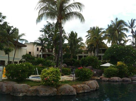 Hilton Mauritius Resort & Spa:                   Vue sur les chambres