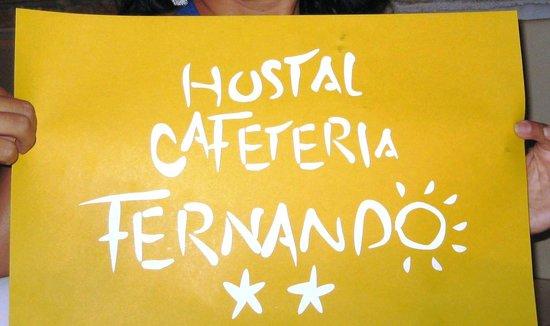 Hostal Fernando:                   Fernando