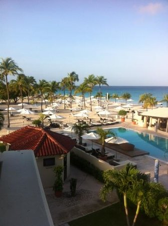 Bucuti & Tara Beach Resort Aruba: view from Tara suit balcony