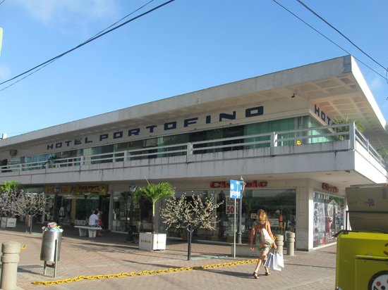 Hotel Portofino:                   Vista del hotel