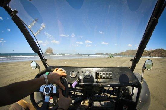Go Buggy Adventures :                   beaching it