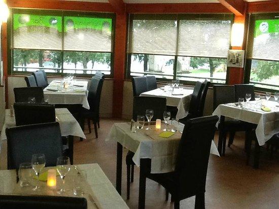 Le Divino : vue d'une des deux salle de restaurant