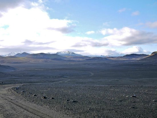Laugavegur: Along the drive...like another planet!