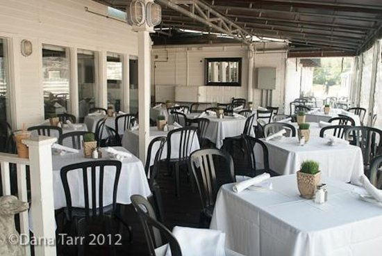 Outside Deck Picture Of Siros Restaurant Quincy Tripadvisor