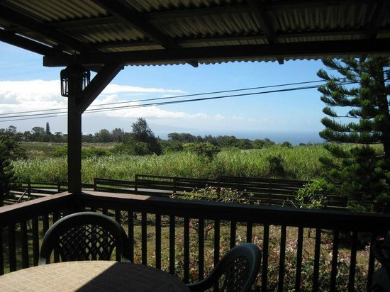 Peace Of Maui:                   porch view