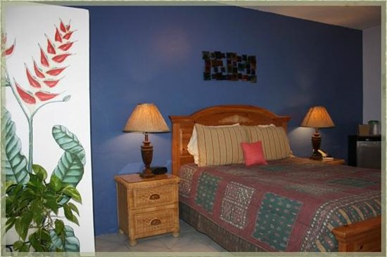 Ceiba Country Inn: Room #8- queen bed