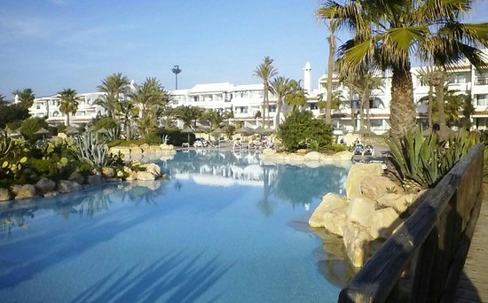 ClubHotel Riu Tikida Dunas:                                     Lovely pools and garden area.