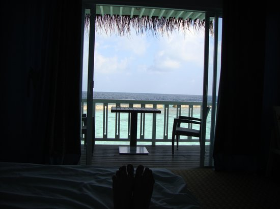 ‪‪Ellaidhoo Maldives by Cinnamon‬: View from bed‬