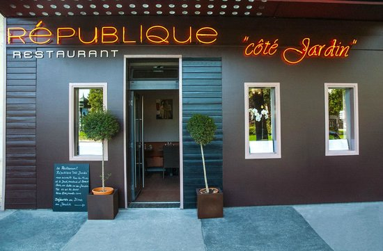 Restaurant Republique Cote Jardin