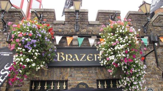 The Brazen Head:                   The entrance