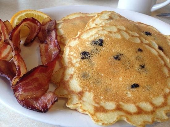 Marybeth's:                   blueberry pancakes