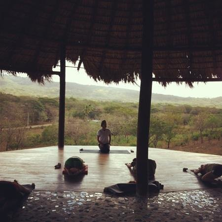 Casa Maderas Ecolodge:                   yoga at casa maderas!