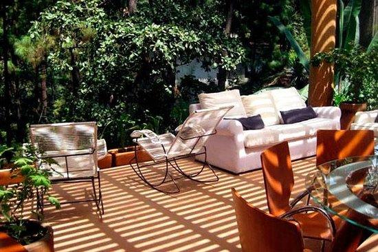 La Casa del Rio: Sala de estar y comedor
