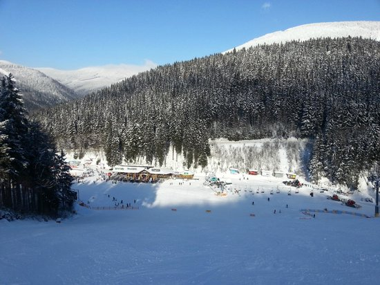 Hotel Westend:                   ski area Svaty Petr