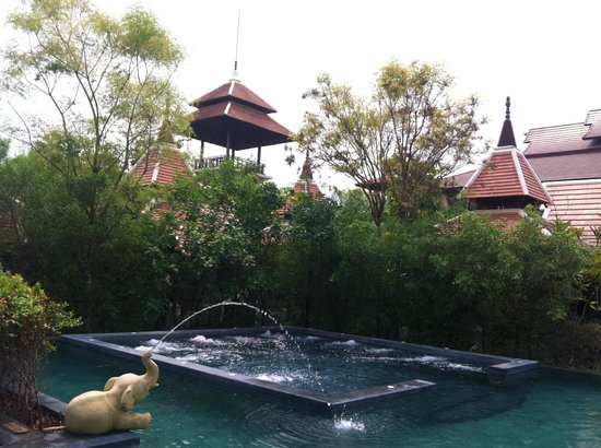 Siripanna Villa Resort and Spa Chiang Mai:                   Hotelanlage