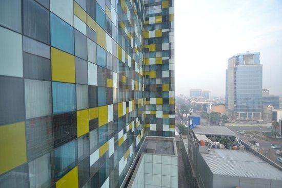 Grand Mercure Jakarta Harmoni:                   المنظر من الغرفة