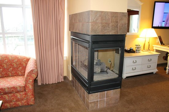 Chesapeake Beach Resort and Spa:                   Fireplace