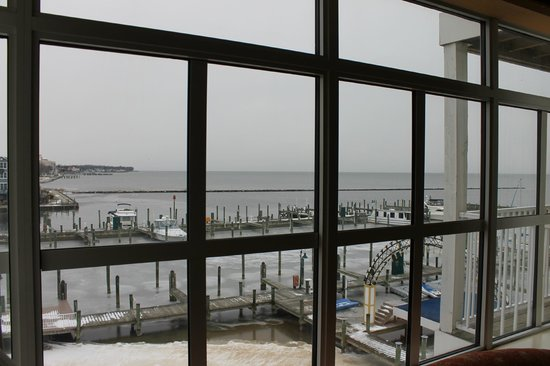 Chesapeake Beach Resort and Spa :                   View