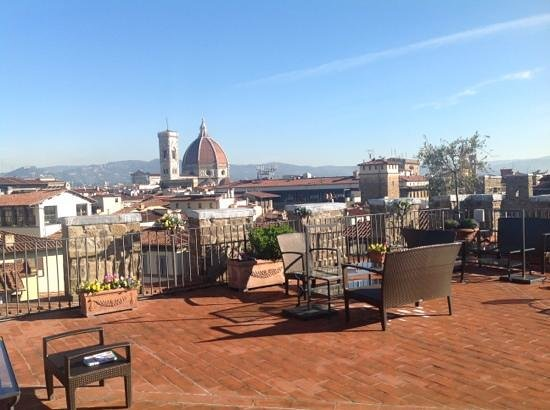 Antica Torre di Via Tornabuoni:                   rooftop terrace