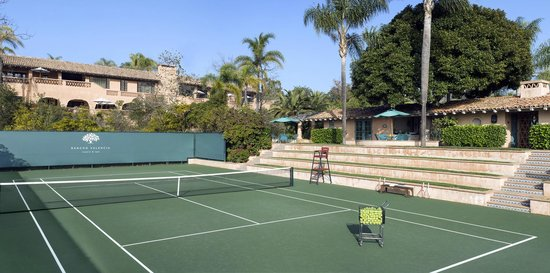 Rancho Valencia: Tennis Court.