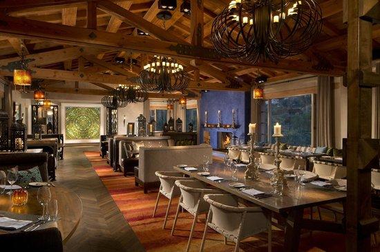 Rancho Valencia: Veladora Restaurant.
