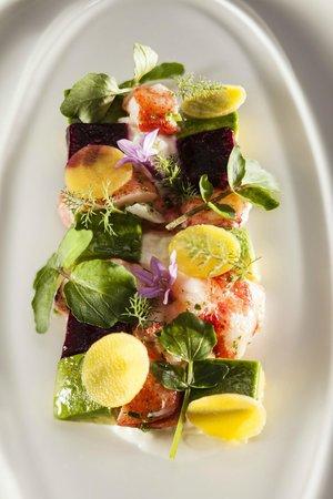 Rancho Valencia: Veladora's Lobster Salad.